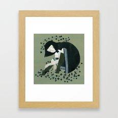 Mire Framed Art Print