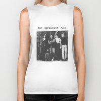 the breakfast club Biker Tanks featuring The breakfast club by Mariana M