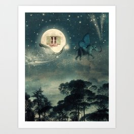 Moon Dream Art Print
