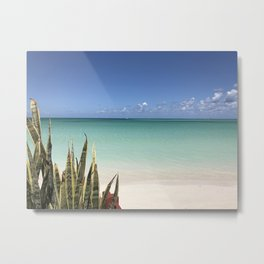 Green effect Metal Print