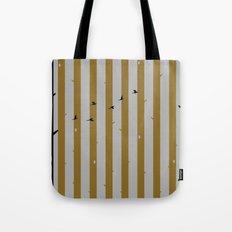 Gold Deer Song Tote Bag