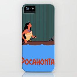 Pocahontas iPhone Case
