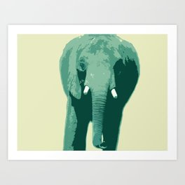 Elephant Tusk Art Print