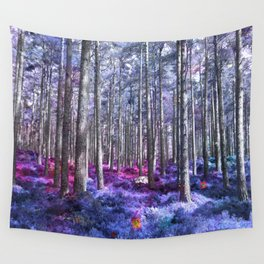Enchanted Forrest Wall Tapestry