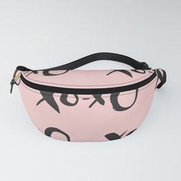 Kisses XOXO Millennial Pink Fanny Pack