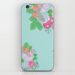 Petite Hand Drawn Collection Bouquet iPhone Skin