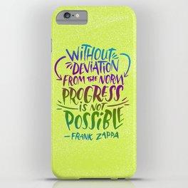 Frank Zappa on Progress iPhone Case