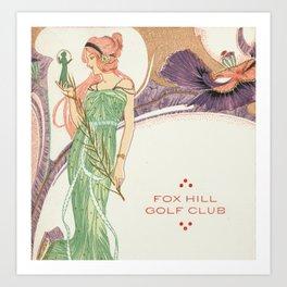 Fox Hill golf club Art Print