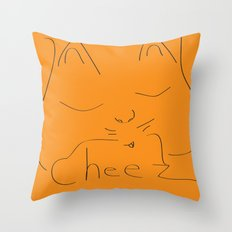 Kitty Kat Throw Pillow