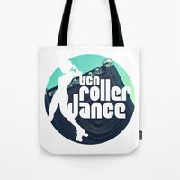 logo Tote Bags featuring Logo by BCN Roller Dance