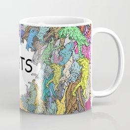 Colorful Rainbow Cats Coffee Mug