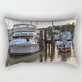 Chesapeake Docks Rectangular Pillow