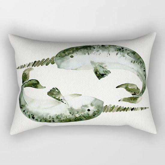 Narwhals Rectangular Pillow