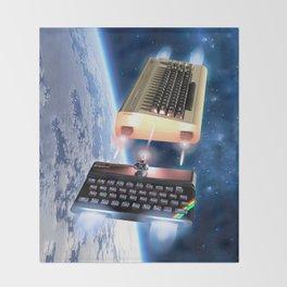 Commodore 64 vs Sinclair ZX Spectrum Throw Blanket