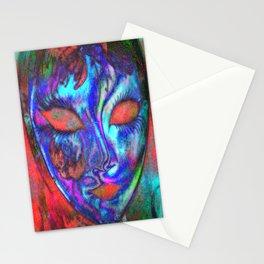 Mask 01 Stationery Cards