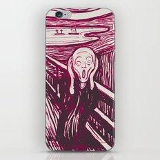 The Scream's Haze (pink) iPhone & iPod Skin