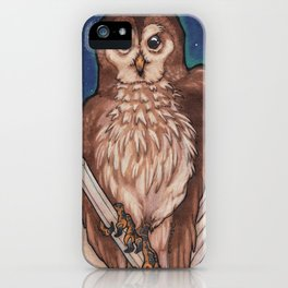 Owl & Crystals iPhone Case