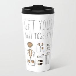 Get your shit together Travel Mug