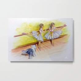 I can dance too Metal Print