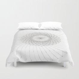 Geometrical Sunflower Duvet Cover
