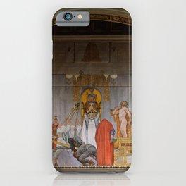 Carl Larsson - Midvinterblot iPhone Case