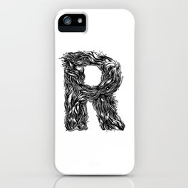 The Illustrated R iPhone Case