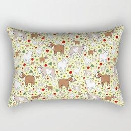 Goat Pattern Rectangular Pillow