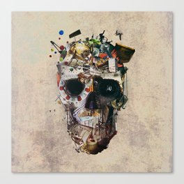 Istanbul Skull 2 Canvas Print