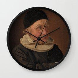 Constantin Hansen - Pastor Jens Bindesbøll Wall Clock