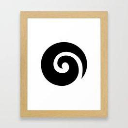 Koru Framed Art Print