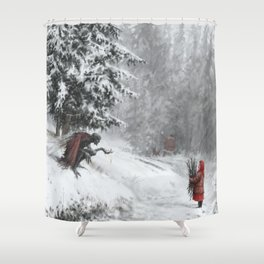 Go ahead, take it. It will be our secret. Shower Curtain