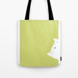 Peek-a-mew Tote Bag