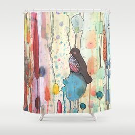 se laisser porter Shower Curtain