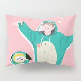 Dinosaur Chimmy (Pink Ver.) Pillow Sham