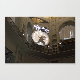 The New Clock Canvas Print