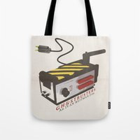 ghostbusters Tote Bags featuring Ghostbusters by JAGraphic