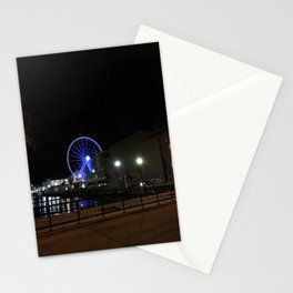 Ferris Wheel At Night Stationery Cards
