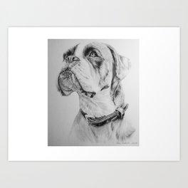 What A Good Boy !! Art Print
