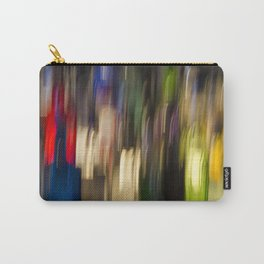 Colorful Bright Light Abstract Carry-All Pouch