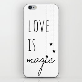 Love is Magic iPhone Skin