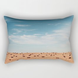 wide open spaces Rectangular Pillow