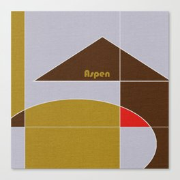Aspen Mosaic Canvas Print
