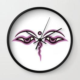 Eyes of God of India_02 Wall Clock