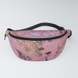 Pink fish pond Fanny Pack