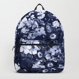 Bohemian Floral Nights in Navy Backpack