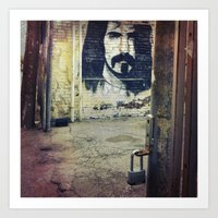 zappa Art Prints featuring Zappa by Litew8