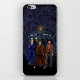 The best regeneration of Doctor who iPhone Skin