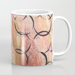 Abstract Circles Painting Coffee Mug