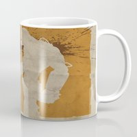 borderlands Mugs featuring Borderlands 2 - Salt the Wound by Art of Peach