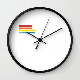 Vintage Bronx 718 New York Gift USA America City Wall Clock